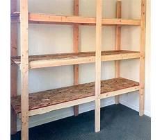 Best Free basement wood shelving plans