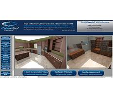 Best Free cabinet making software for mac