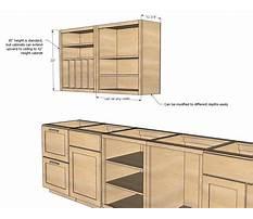 Best Free custom kitchen cabinet plans