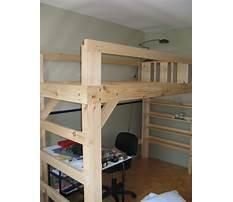 Best Free dorm loft bed plans