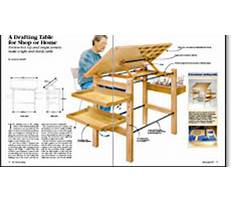 Best Free drafting table plans available download