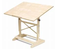 Best Free drafting table plans to build