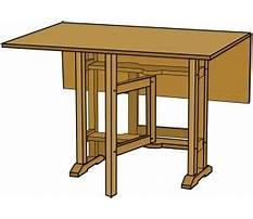 Best Free gateleg table plans