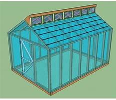Best Free greenhouse plans online