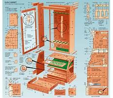 Best Free gun cabinet woodworking plans