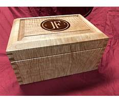 Best Free humidor woodworking plans