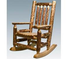 Best Free log chair plans