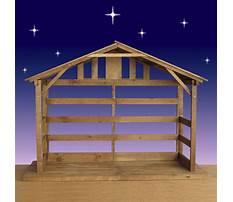 Best Free outdoor manger scene plans