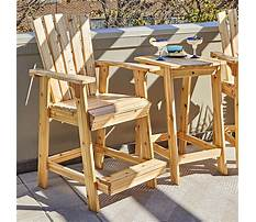 Best Free outdoor wooden chair plans