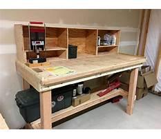 Best Free plans build shop table