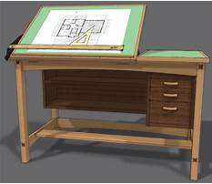 Best Free plans for drafting table