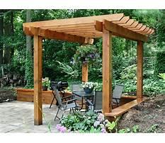Best Free plans for wooden pergola designs