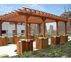 Best Free plans for wooden pergola for patio