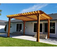 Best Free plans for wooden pergola kits