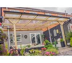 Best Free plans for wooden pergola with polycarbonate