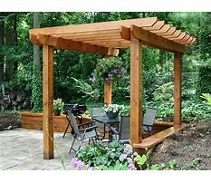 Best Free plans for wooden pergolas