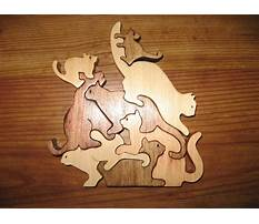 Best Free scroll saw animal puzzles
