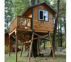 Best Free standing tree house kit