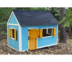 Best Free wendy playhouse plans