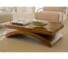 Best Free wood coffee table designs