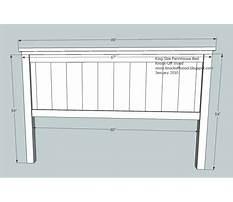 Best Free wood headboard plans