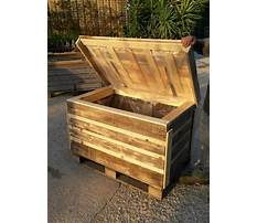 Best Free wood pallet projects chest