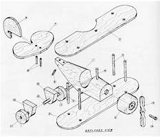 Best Free wood toy airplane plans