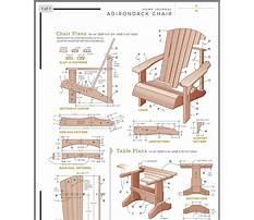 Best Free wooden chair designs plans
