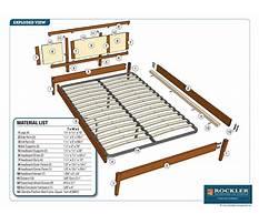 Best Free woodworking plans bed frame.aspx