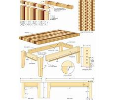 Best Free woodworking plans end table