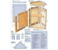 Best Free woodworking plans for corner cabinet