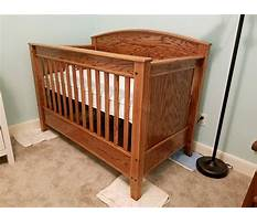 Best Free woodworking plans for crib