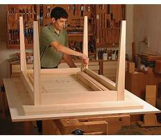 Best Free woodworking plans kitchen table