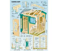 Best Free woodworking shed plans
