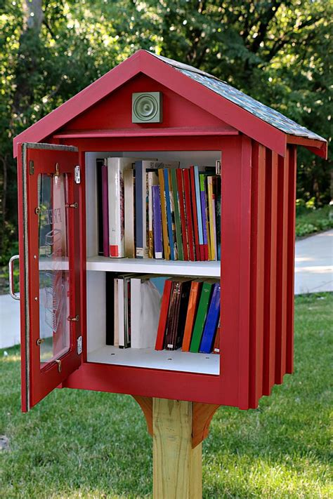 Freel Little Library Plans