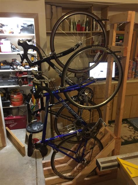 Freestanding Bike Rack DIY