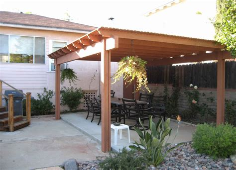 Freestanding Covered Patio Plans