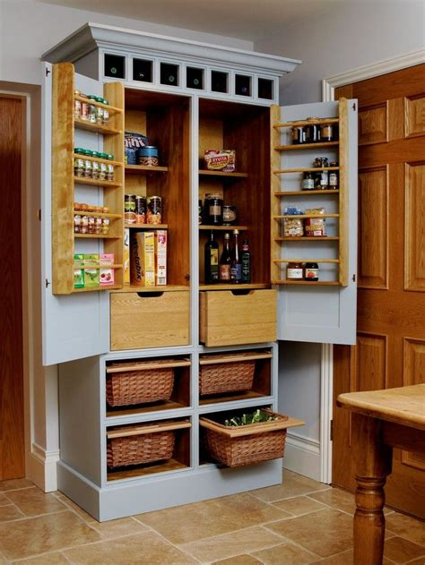 Freestanding Kitchen Pantry Plans And Cut