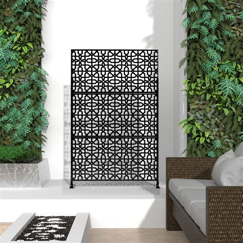 Freestanding Outdoor Privacy Fence