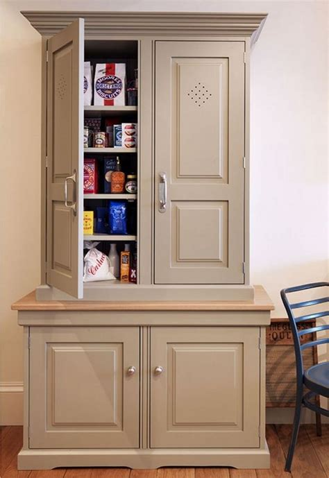 Freestanding Pantry Cabinet Plans
