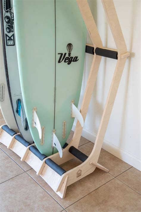 Freestanding Surfboard Rack Diy Network