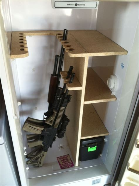 Freezer Gun Safe Plans