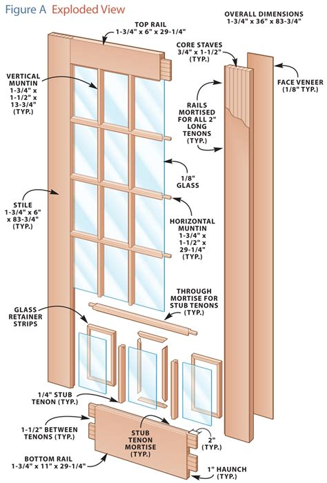 French Door Construction Plans