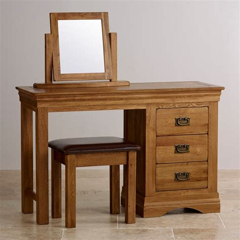 French-Farmhouse-Country-Oak-Dressing-Table
