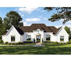 Best French european house plans