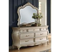 Best French provincial dresser with mirror