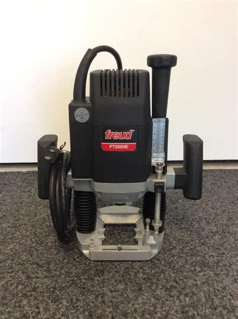 Freud Plunge Router Ft2000e On Ebay