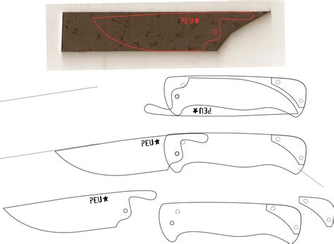 Friction Folding Knife Plans
