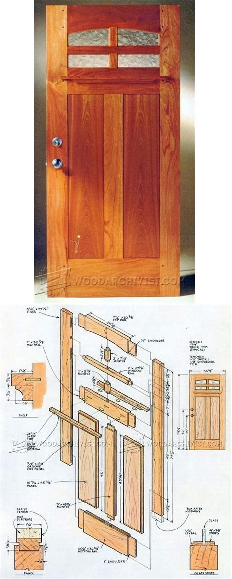 Front Door Construction Plans