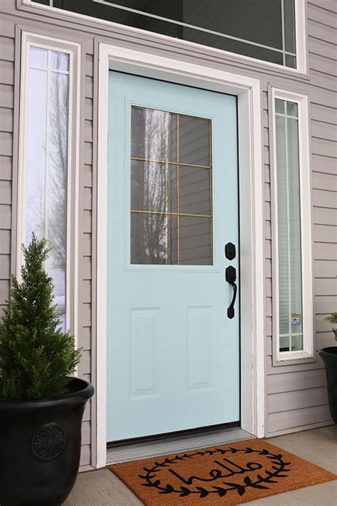 Front Door Makeover Diy